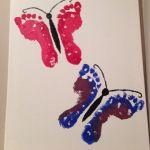 handprint butterfly arts «  funnycrafts