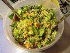 Soulfood Giesing: Veganer Couscous Salat mit frischen Kräutern