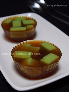 Jelly Cake, Asian Desserts, Agar, Indonesian Food, Truffles, Mousse, Panna Cotta, Deserts, Food And Drink