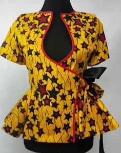 Check out this item in my Etsy shop https://www.etsy.com/ca/listing/255708208/ankara-african-print-yellow-star-wax