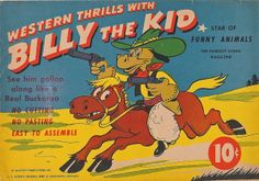 Billy the Kid, Paper Toy