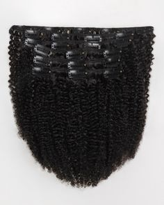 Clip In Hair Extensions Kinky Curly Indian Remy Human Hair Natural Color Curly Clip Ins, Human Hair Clip Ins, Remy Human Hair, Remy Hair, 100 Human Hair Extensions, Tape In Hair Extensions, Cheveux 3b, Natural Hair Tips, Natural Hair Styles