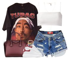 """2Pacalypse"" by oh-aurora ❤ liked on Polyvore featuring Givenchy, Alexander McQueen, Giuliana Romanno, polyvorecommunity, polyvoreeditorial, styledbyA and PolyvoreMostStylish"