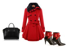 """Winter 1."" by szunda on Polyvore featuring Givenchy and Yves Saint Laurent"
