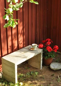 Penkki betonista - Kivistössä | Lily.fi