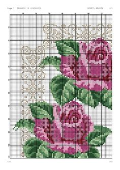 Cross Stitch Pillow, Cross Stitch Rose, Cross Stitch Flowers, Beaded Embroidery, Cross Stitch Embroidery, Cross Stitch Designs, Cross Stitch Patterns, Red And Pink Roses, Vintage Cross Stitches