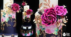 jewel-toned-mexican-inspired-wedding-cake-tutorial-sugar-geek-show