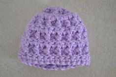 Free angel baby hat crochet pattern - Instructions to make it bigger too.