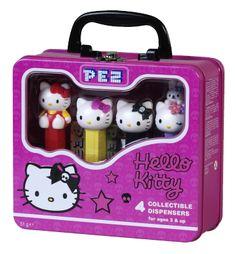 Hello Kitty Collectible Tin- Skull Set