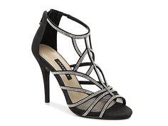e722161aa39c5a Women Neptune Sandal -Black Fabric Black Dress Sandals