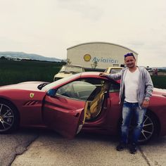 jazda na ferraari! wow! #great #journey #ferrarri #fast&furious