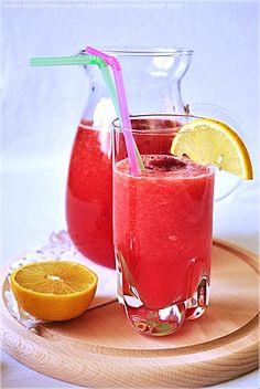 orzeźwiający napój arbuzowy