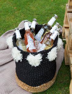 pinque-nique - Profiter de l'été: un pique-nique 5 étoiles dans le jardin - Outdoor - Inspiration Food Inspiration, Straw Bag
