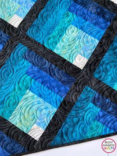 Waterfall Quilt Pattern PDF Two Color Ombre Gradating   Etsy Layer Cake Quilt Patterns, Quilt Square Patterns, Layer Cake Quilts, Easy Quilt Patterns, Block Patterns, Layer Cakes, Log Cabin Quilts, Log Cabin Quilt Pattern, Log Cabins