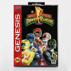 Mighty Morphin Power Rangers 16 bit MD Game Card With Retail Box For Sega Megadrive/Genesis