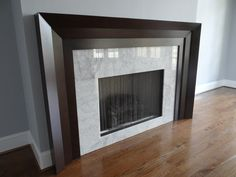 Modern Fireplace Mantels | Fireplace Mantel Judd | Fireplaces ...