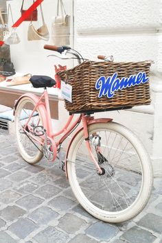 Walking alone in Vienna, Austria Pink Bike, Danube River, Imperial Palace, Walking Alone, Vienna Austria, Vintage Bicycles, Manners, Wonderful Places, Germany