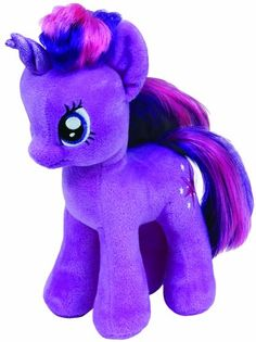 Ty UK 7-inch My Little Pony Twilight Sparkle Beanie (Styles May Vary): Amazon.co.uk: Toys & Games