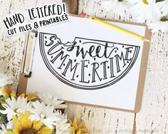 Watermelon SVG Cut File, Sweet Summertime Cutting File, Hand Lettered, Silhouette, Cricut, Calligraphy, Summer SVG, Vinyl Stencil, SVG Files, Cutting Files, Silhouette Cameo, Brother Scan N Cut, SCAL, Sure Cuts A Lot, Cut Files, Printable, Printables, Wall Art, Etsy Print, Original Art, DXF Files, JPG, PNG, Clipart, Inspitational Quotes, Motivational Quotes, The Smudge Factory, Hand Lettering, Calligraphy, Vinyl Crafts, Paper Crafting, Scrapbooking, Cutting Machine, Cut Machine, Cricut…