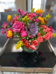 Glass Vase, Delivery, Flowers, Plants, Home Decor, Homemade Home Decor, Floral, Plant, Interior Design