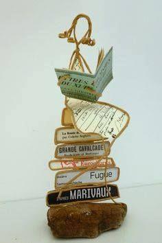 esculturas de papel de Isabelle Guiot Hullot .