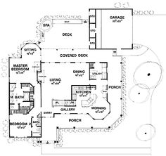 French Country Charm (hWBDO10164) | Farmhouse House Plan from BuilderHousePlans.com2660 sq ft