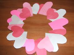 Preparing Your Child for Preschool: Valentine's Day Preschool Craft Project – Heart Wreath Directions | Preparing Your Child for Preschool & Kindergarten Too!