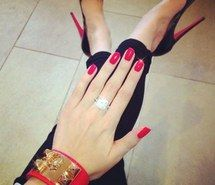 Inspiring image beautiful, black, classy, cuff, diamond, engagement, expensive, fashion, girly, gold, heels, hermes, jewelry, louboutin, love, luxury, nails, orange, peeptoe, potd, red, rich, ring, shoes, style, want, wedding, wow #1539704 by Voron777 - Resolution 1024x1024px - Find the image to your taste