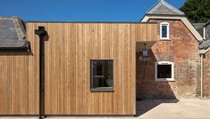 Window Boards, Window Reveal, Cedar Cladding, Sweet Chestnut, Wood Species, The Expanse, Minimalism, Shed, Farmhouse