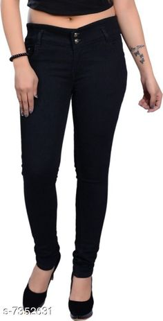 Checkout this latest Jeans & Jeggings Product Name: *Trendy Girls Jeans* Fabric: Denim Pattern: Solid Multipack: Single Sizes:  6-7 Years, 7-8 Years, 8-9 Years, 9-10 Years, 10-11 Years, 11-12 Years, 12-13 Years Easy Returns Available In Case Of Any Issue   Catalog Rating: ★3.9 (1118)  Catalog Name: Tinkle Funky Girls Jeans & Jeggings CatalogID_1178899 C62-SC1154 Code: 683-7352631-969