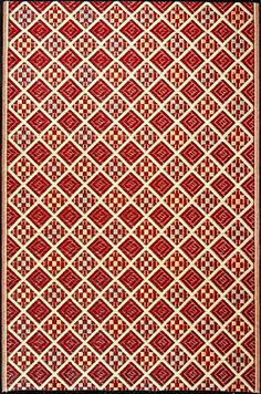 Mad Mats Scotch Indoor/Outdoor Floor Mat, 5 by 8Feet, Cranberry  Home Products Reviews