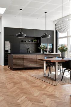Küchen Design, House Design, Interior Design, Barn Conversion Interiors, Miele Kitchen, Design Your Kitchen, Fireplace Design, Kitchen Interior, Beautiful Living Rooms