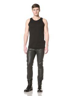 Ann Demeulemeester Men's Crew Neck Tank (Black) #Shirt #Men #ShirtsSweaters