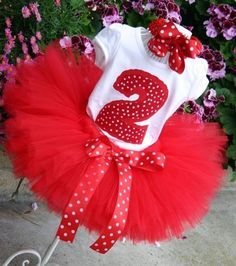 Love this idea for first birthday girl (obviously with a 1 on the shirt...)