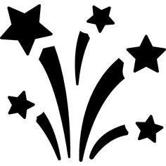 Fireworks free vector icon designed by Freepik Icon Design, Vector Icons, Vector Free, Balloon Shop, Airbrush Designs, Clay Flower Pots, Christmas Window Decorations, Quilting Stencils, Silhouette Art