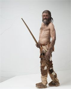 kennis_reconstruction of the oldest tattoed man ever found! cool isnt it?