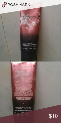 Gleam Body Radiance Body makeup that gives you a beautiful golden undertone. Works great as a foundation primer too Other