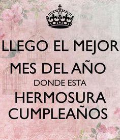 O sea yo Happy Birthday Cards, Birthday Wishes, Birthday Month, Happy B Day, Spanish Quotes, Birthday Quotes, Sentences, Bff, Positivity