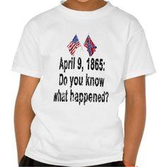 April 9, 1865 T Shirt, Hoodie Sweatshirt