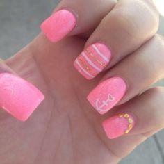 summer nails anchor  ♥