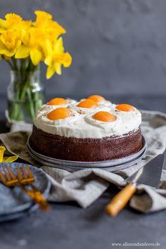 Schokoladiger Spiegeleier-Kuchen zum Osterfest | Alles und Anderes