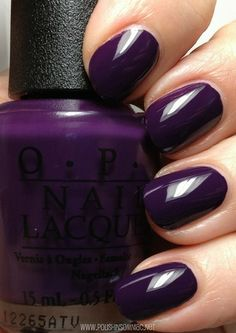 OPI Vant to Bite My Neck- click thru to see the rest of my favorite purple polishes from 2013!