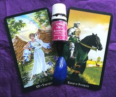 Temperance & Knight of Pentacles