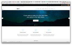 Great minimal web design.
