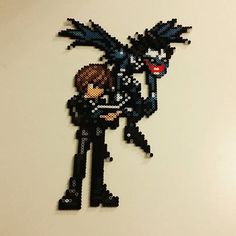 Light Yagami - Death Note perler beads by kimandthensome