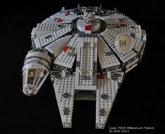 Star Wars Lego Millenium Falcon -he wouldn't ask for it, but I think he would have fun with some kind of small star wars lego kit. He would have fun with Bladen