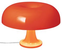Lampe de table Nessino / Ø 32 cm Orange opaque - Artemide - Décoration et mobilier design avec Made in Design