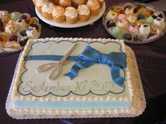 25th Anniversary and Grand Re-Opening Ribbon Cutting cake