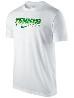 Perfect for workouts or casual wear, Nike Men's London Tennis Swoosh T-Shirt - $30