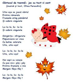 Doamna Fagilor: Cantecel de toamnă (cu variantă audio) Paper Frames, Autumn Activities, Kindergarten Worksheets, Autumn Theme, Raising Kids, Kids Education, Nursery Rhymes, Holidays And Events, Kids And Parenting